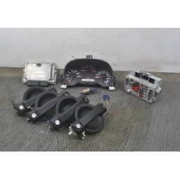 Kit chiave accensione Fiat Doblo 1.9 D dal 2001 al 2009 cod : 0281010344