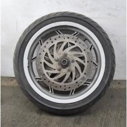 Cerchio anteriore + gomma + due dischi freno Piaggio X10 350 i dal 2011 al 2017