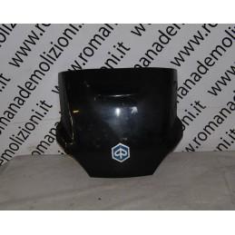 Carena posteriore congiunzione fianchetti completa blu notte Piaggio MP3 250 - 400 ie '10 - '11