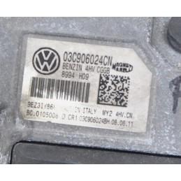 Centralina + chiave codice Volkswagen Polo 1.4 dal 2009 al 2017 cod : 03C906024CN