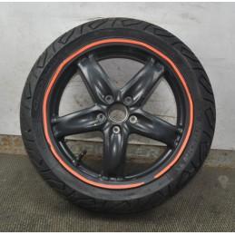 Cerchio anteriore + gomma Gilera Nexus 125 /200 / 250 / 500 dal 2003 al 2012