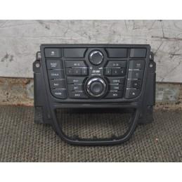 Tastiera autoradio Opel Astra J dal 2009 al 2015 cod: 13337215