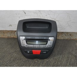 Autoradio Radio CD Toyota Aygo / Citroen C1 / Peugeot 107  Dal 2005 al 2014 cod 86120-0H010