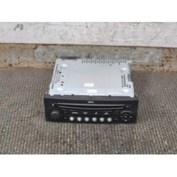 Autoradio lettore CD Citroen C4 Picasso  dal 2006 al 2013 cod: 96662670XT