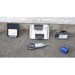 Kit chiave Opel Agila A 1.0  dal 2000 al 2007 cod: 0261207961 / 55350549