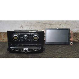 Comandi clima + stereo Renault Koleos dal 2008 al 2016 cod 27500JY76C - 6CDCUNIT