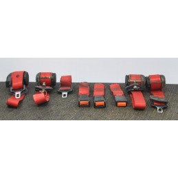 Set completo cinture di sicurezza Fiat 500 Sporting dal 1994 al 1998 cod.