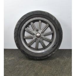 Cerchio anteriore + gomma Piaggio MP3 125 / 300 Yourban ie LT dal 2011 al 2018