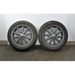 COPPIA Cerchio anteriore + gomma Piaggio MP3 125 / 300 Yourban ie LT dal 2011 al 2018