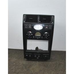 Console centrale + comando clima e orologio Ford Mondeo MK2  dal 2000 al 2007 cod 1S7H-18D451-AC