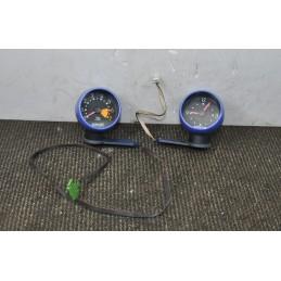 Orologio + Contagiri blu Smart Fortwo 450 dal 1998 al 2007 ( fondo nero )
