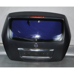 Portellone bagagliaio posteriore nero opaco Lancia Ypsilon dal 2003 al 2011