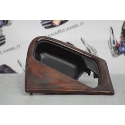 Cornice maniglia Anteriore Destra DX (passeggero) effetto radica Mercedes ML (W163) '98 - '01 cod. A1637660264