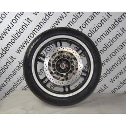 Cerchio anteriore + disco e gomma Yamaha Xcity 125 / 250 dal 2006 al 2016