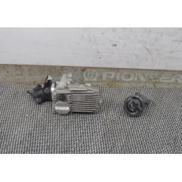 Kit chiave accensione no serratura bauletto Piaggio Beverly 250 ie dal 2001 al 2010 cod : CM078203