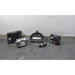 Kit chiave accensione Citroen C3 1.4 dal 2002 al 2011 cod : 9665347580